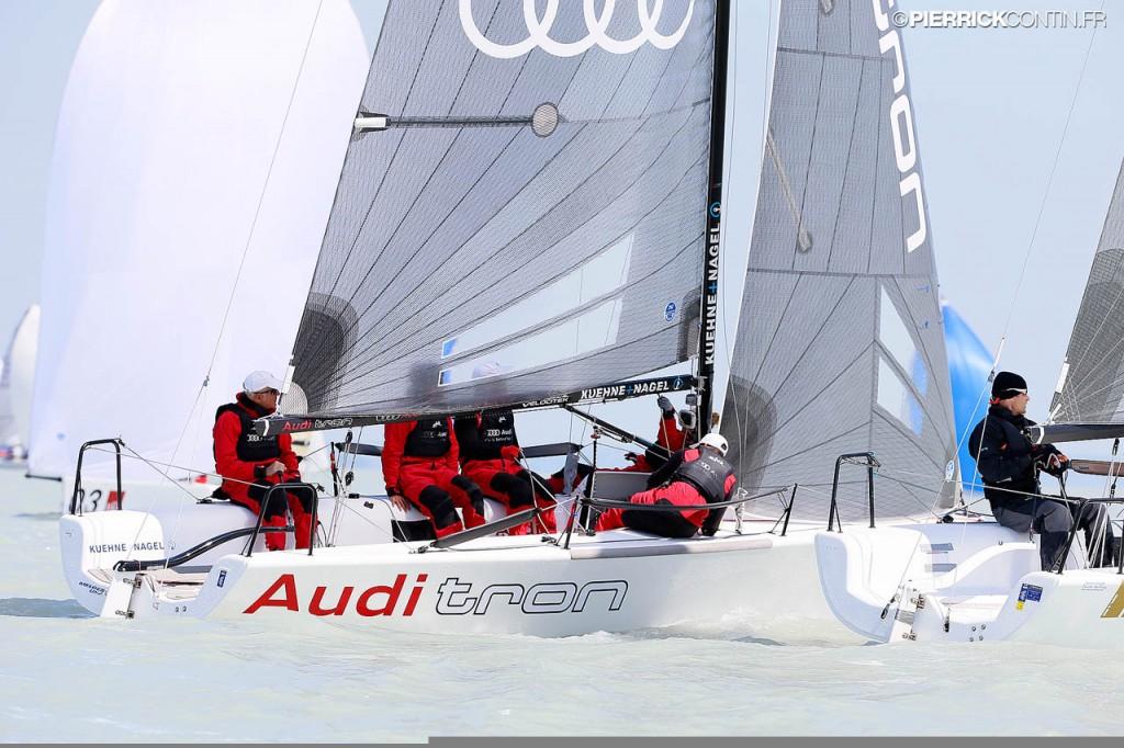 Audi Tron in regata a Kiel