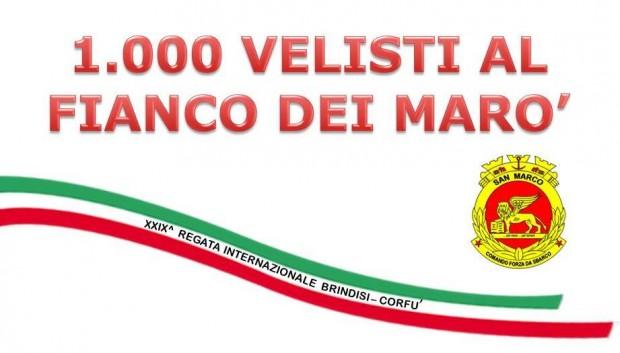 Bandiera per i Marò