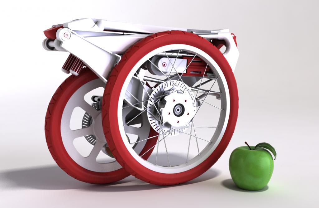 Il progetto Bike Intermodal, finanziato dall'UE, ha messo a punto un prototipo di bicicletta pieghevole, che pesa solo 7,5 kg e può essere riposta in un contenitore di appena 50 x 40 x 15 cm