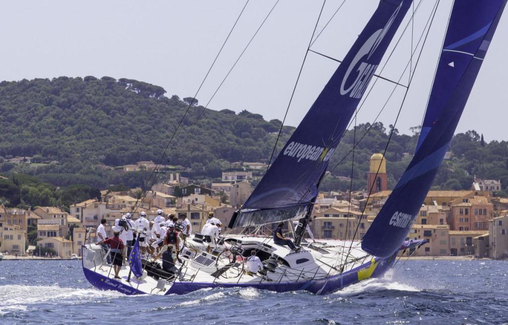 Esimit Europa 2 oggi a Saint Tropez. Foto Ferri/Studio Borlenghi/Esimit