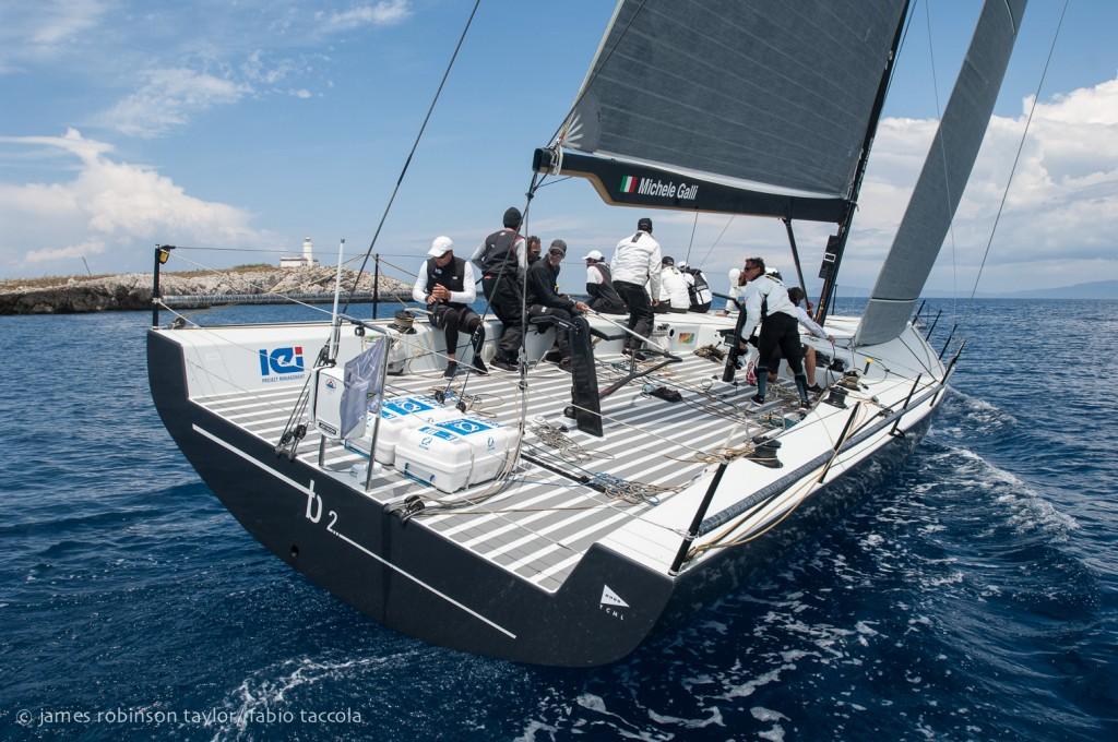 B2, vincitore in IRC overall della regata. Foto Taylor/Taccola
