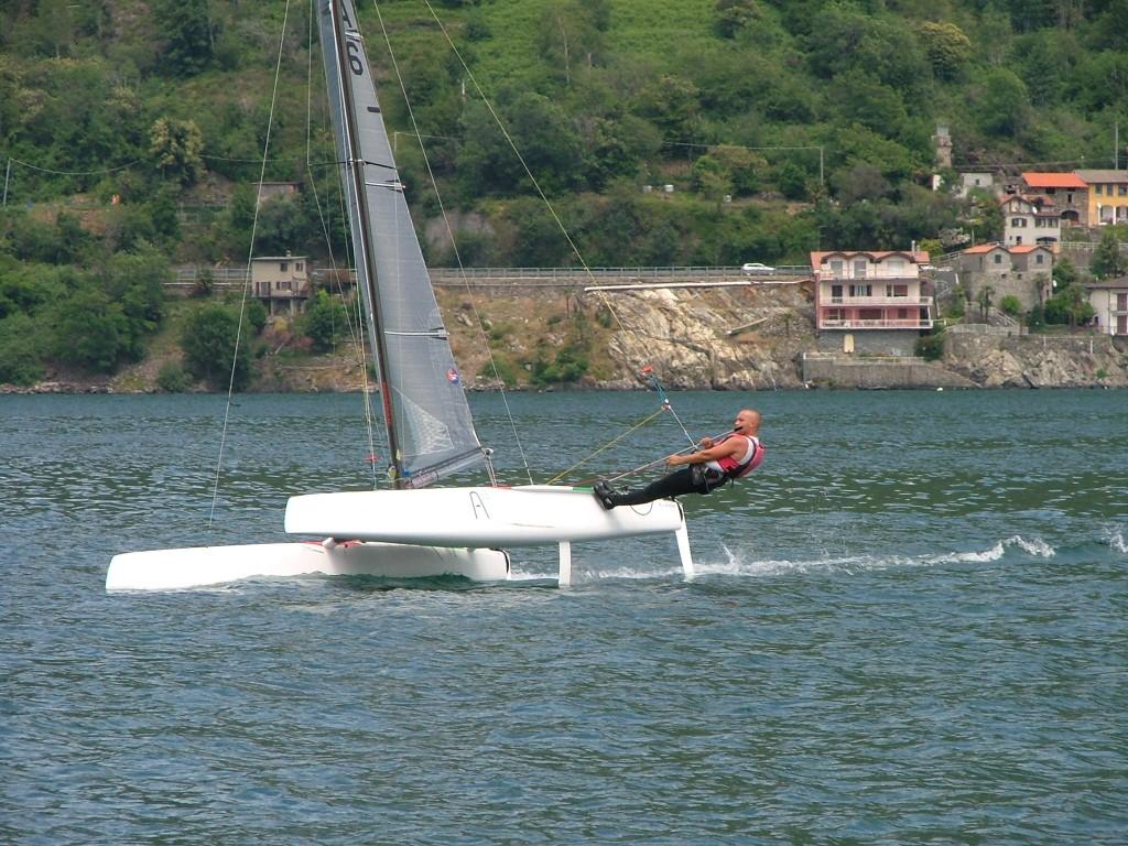 Luca Maffessoli vince il Nazionale Classe A a Maccagno, sul lago Maggiore