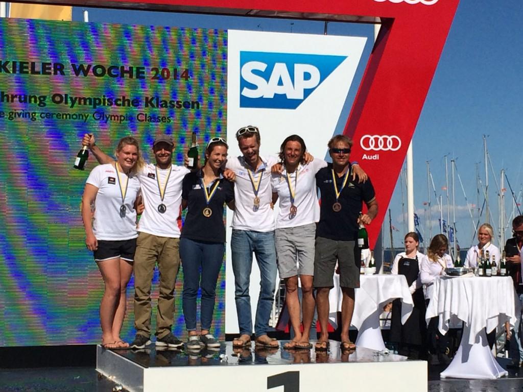 Bissaro-Sicouri e Bressani-Micol sul podio di Kiel