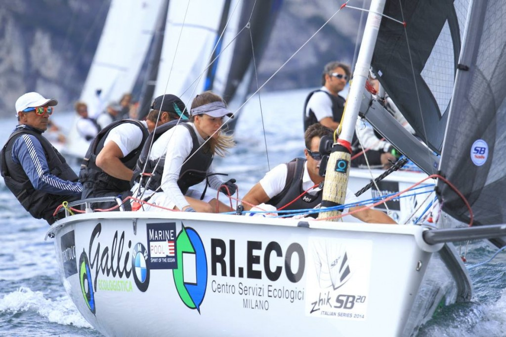 SB20 in regata a Torbole