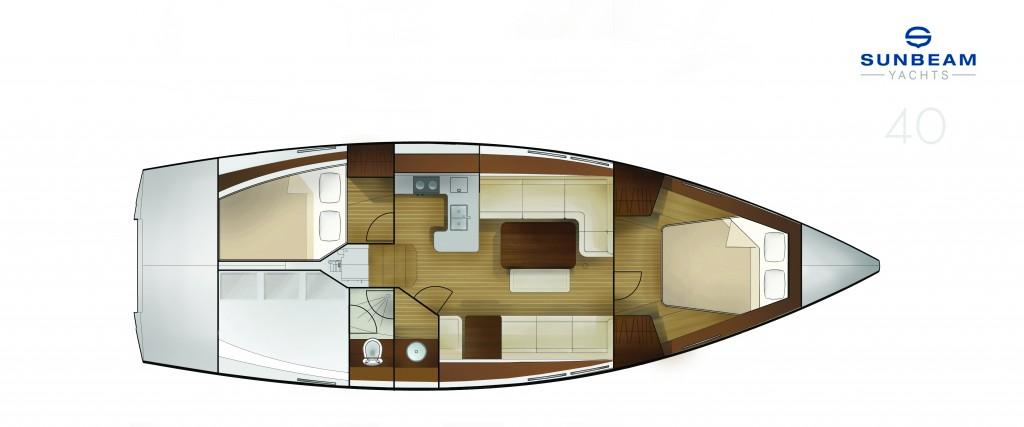 La versione Luxury prevede due cabine e un bagno