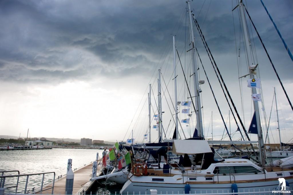 Le barche partecipanti alla XXVI edizione dell'Appuntamento in Adriatico ospitate al Marina di Sveva