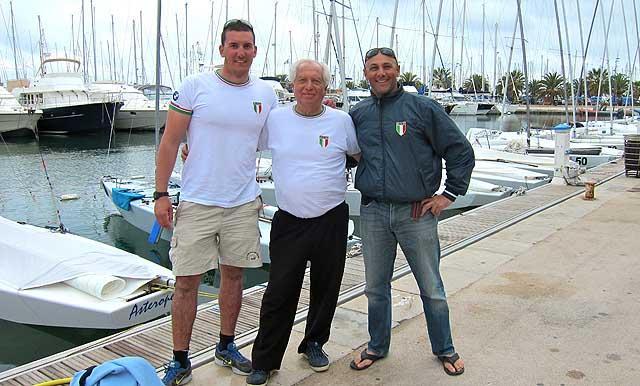 Mankin nel 2011 con Diego Negri ed Enrico Voltolini durante la loro campagnma Star. Foto Bontempelli