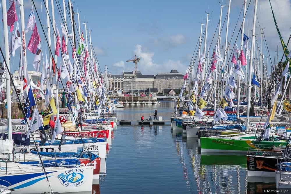 La flotta dei Figaro a Deauville