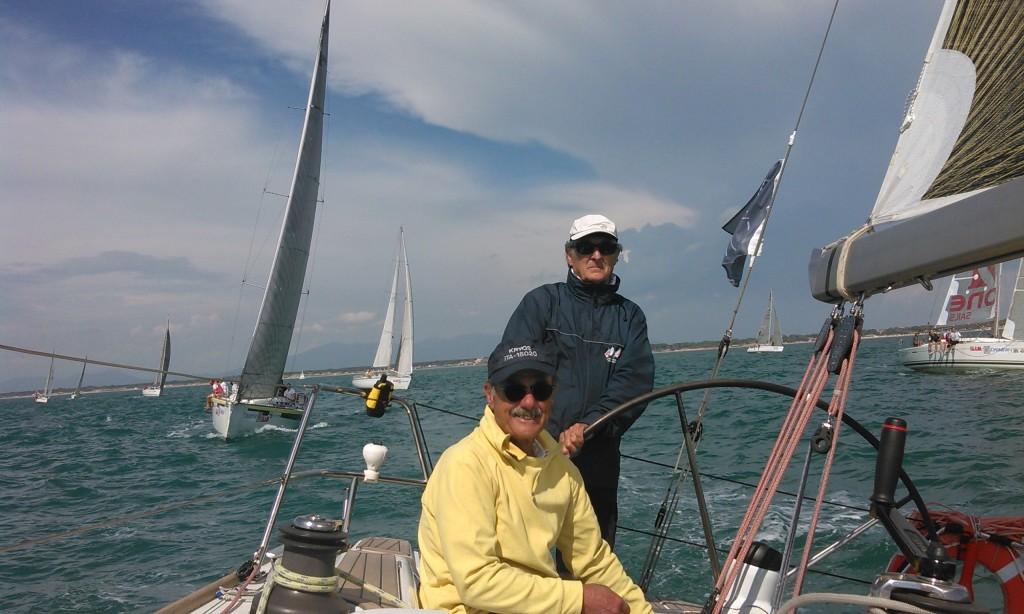 Kyros alla boa di Marina di Pisa. Foto Cenci