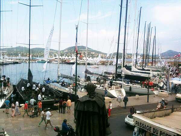 Il Port Vieuw di Saint Tropez questa mattina