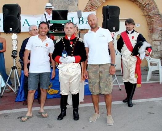 """Un momento dsella premiazione """"Napoleonica"""" a Rio Marina"""