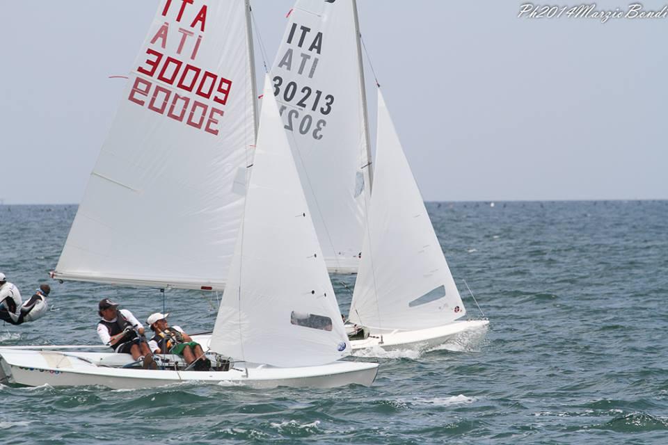 Snipe in regata a Riccione