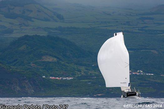 Prysmian all'arrivo sullo sfondo di Pico. Foto Breschi