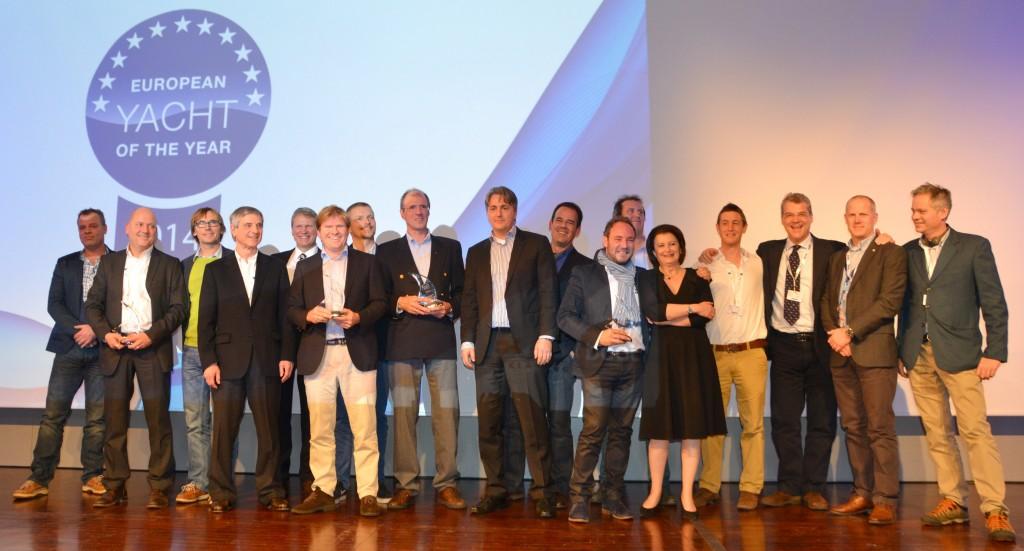 La premiazione dei vincitori dell'edizione 2014