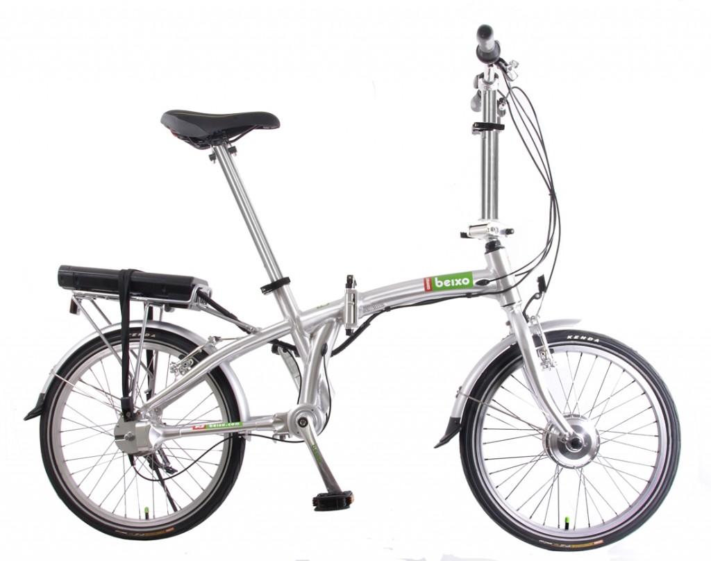 La bicicletta pieghevole in alluminio della Baixo