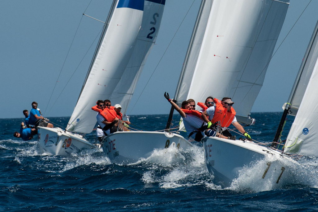 I B One in regata. ©Francesco Nonnoi/YCCS