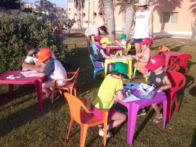 I bambini sono stati protagonisti del pomeriggio al Marina di Ragusa