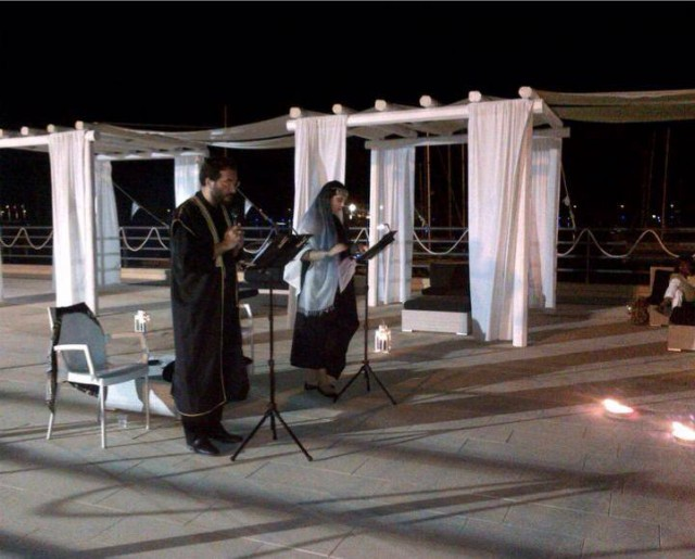 La seconda parte della giornata è stata dedicata alle interpretazioni canore di alcuni musicisti e cantanti
