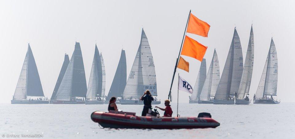 Start con vento leggerissimo al Mondiale Orci di Kiel