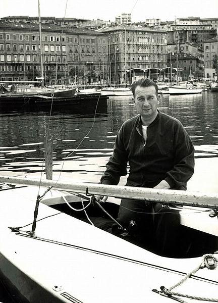 Straulino sulla Star Merope III a Napoli per le Olimpiadi del 1960. Insieme a Carlo Rolandi, Straulino concluse quarto la sua quarta Olimpiade in Star. In precedenza aveva concluso quinto nel 1948, fu oro nel 1952 e argento nel 1956. A Tokyo 1964 fu quarto nei 5.5.