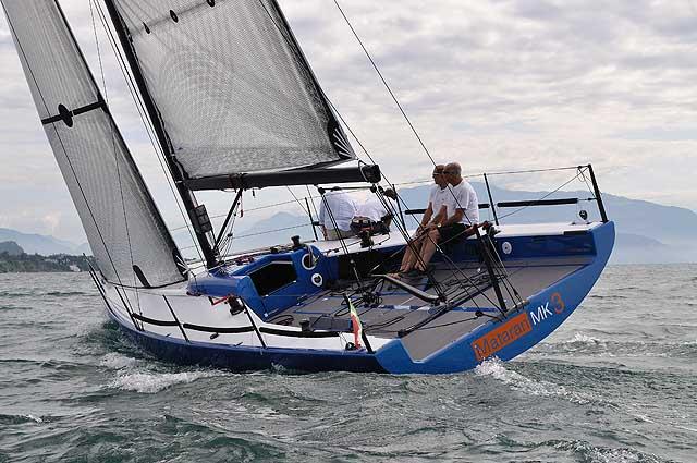 La barca in bolina. Foto Pandolfini