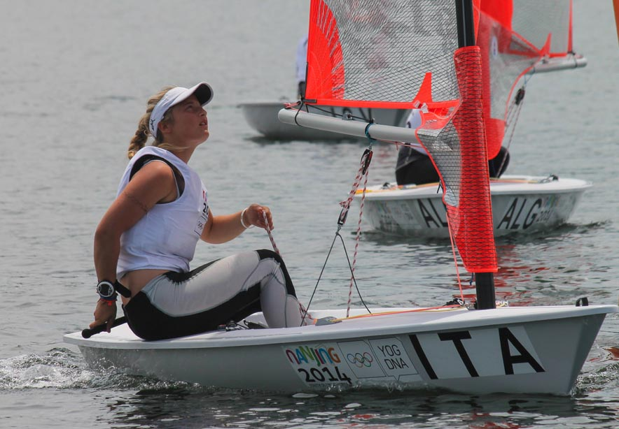 Carolina Albano. Foto ISAF