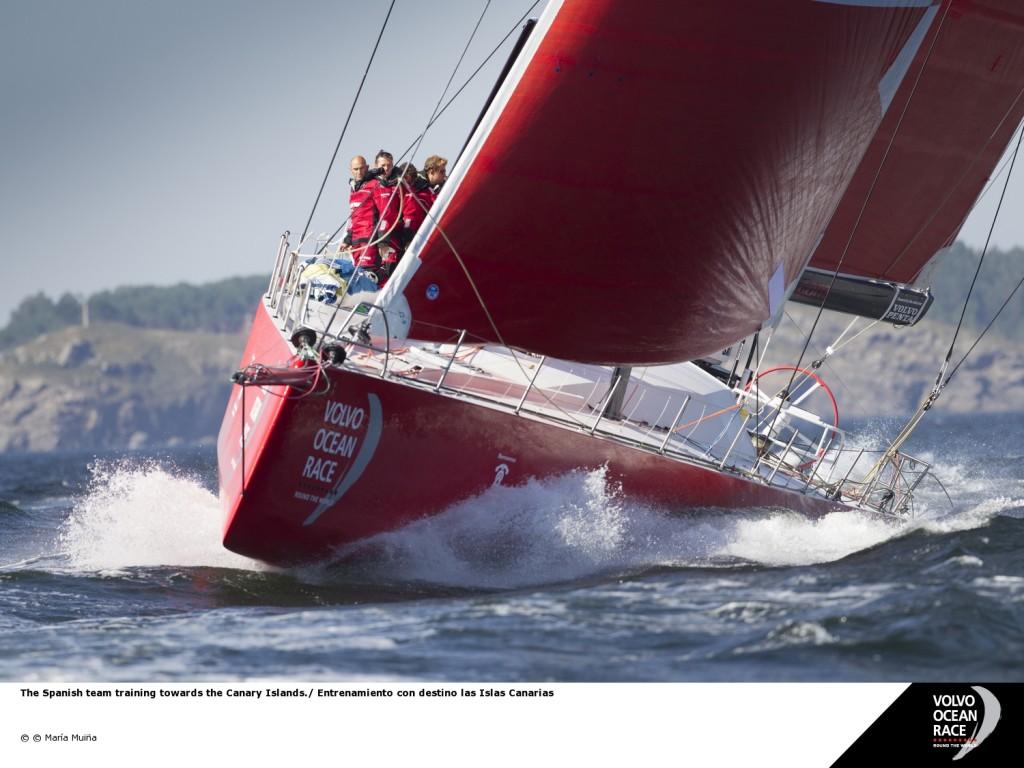 Team Campos. Gli equipaggi della Volvo Ocean Race saranno dotati dei sistemi elettrici firmati Mastervolt. Foto Muiña