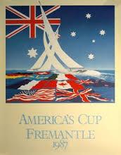 Il manifesto della Coppa 1987