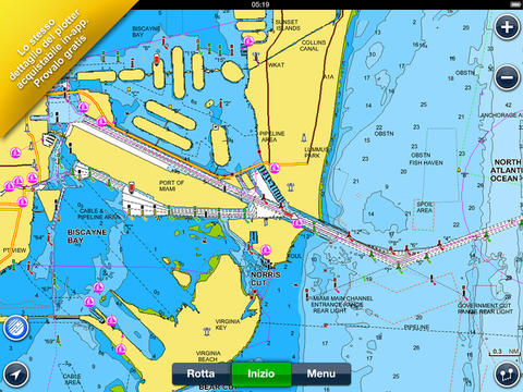L'app Navionics Boating