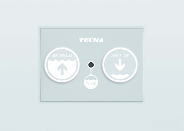 Il pannello Touch della Tecma