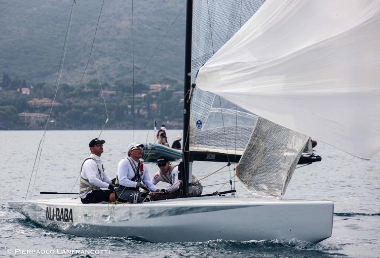 L'equipaggio di Marazzi. Foto Lanfrancotti