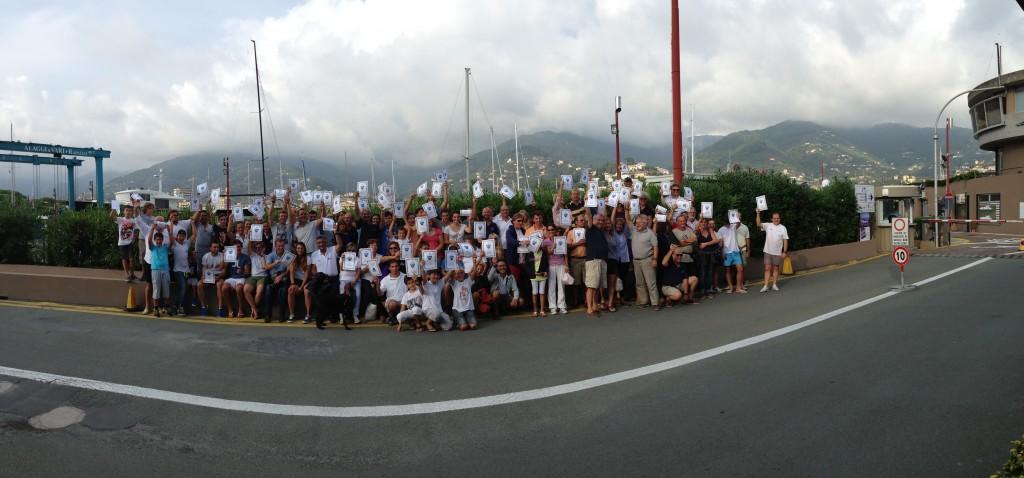 I partecipanti alla Bart's Bash di Rapallo