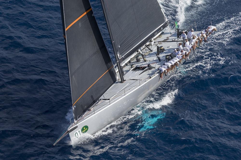 Alegre, vincitore tra i Minimaxi. Foto Borlenghi/Rolex