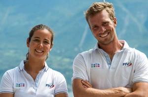 Vittorio Bissaro e Silvia Sicouri. Foto Taccola/FIV