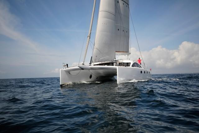 Il Class 4 di O Yachts in navigazione verso Cannes dove sarà esposto al prossimo Yachting Festival