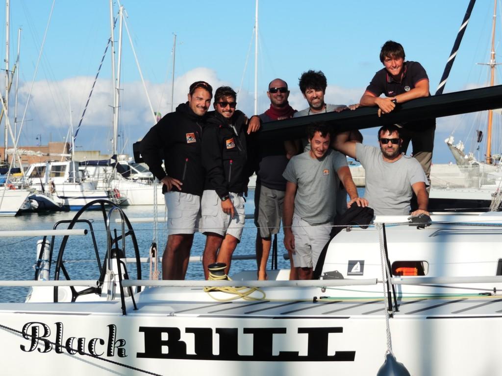 I ministi a bordo del J111 Black Bull di Platone
