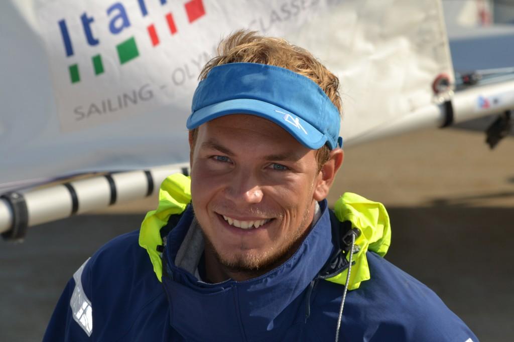 Giovanni Coccoluto sorride al rientro a terra. Foto FIV