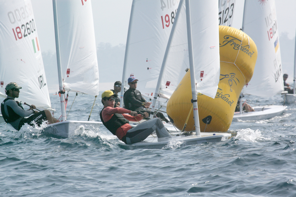 Laser in regata