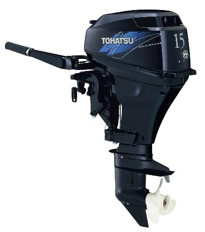 Il nuovo Tohatsu MFS15 che sarà presentato a Genova in occasione del Salone Nautico
