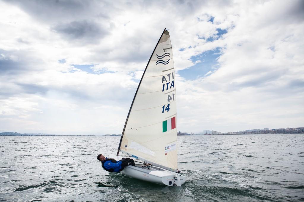 Cirillo sul DFantastica Finn oggi a Santander. Foto Renedo