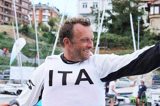 Michele Paoletti sorride al rientro. Foto Tognozzi