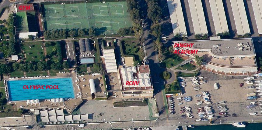 La logistica della Dinghy Academy presso il RCNV