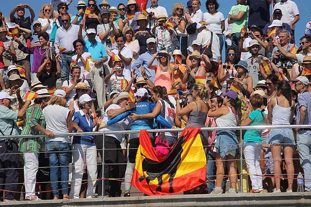 Il pubblico di Santander