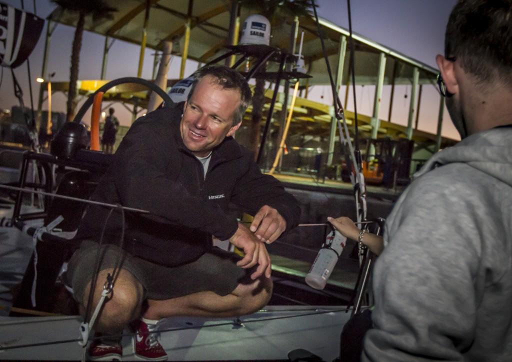 Chris Nicholson. Foto Ainhoa Sànchez/Volvo Ocean Race