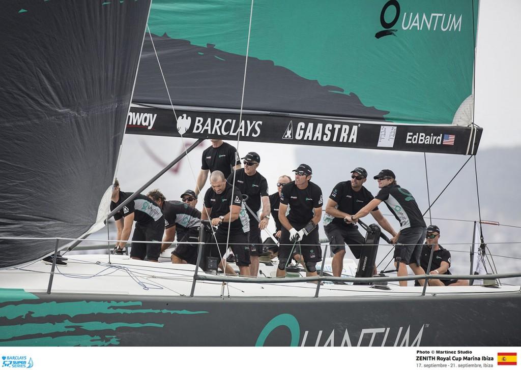 Quantum in regata a Ibiza. Foto Studio Martinez