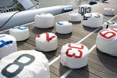727 Sailbags sarà presente al prossimo Salone Nautico di Genova con la nuova collezione di accessori ricavati da vele usate