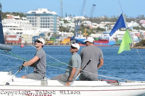 Francesco Bruni alle Bermuda. Foto Wilson