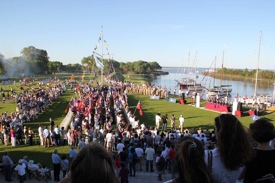 La cerimonia d'inaugurazione al CN San Isidro di Buenos Aires