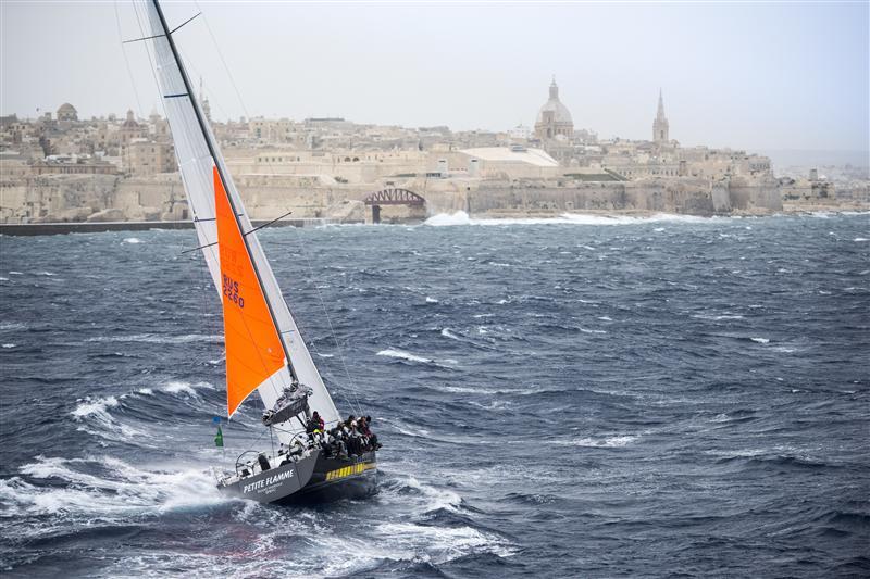 In arrivo a Malta con randa di cappa. Foto Arrigo/Rolex