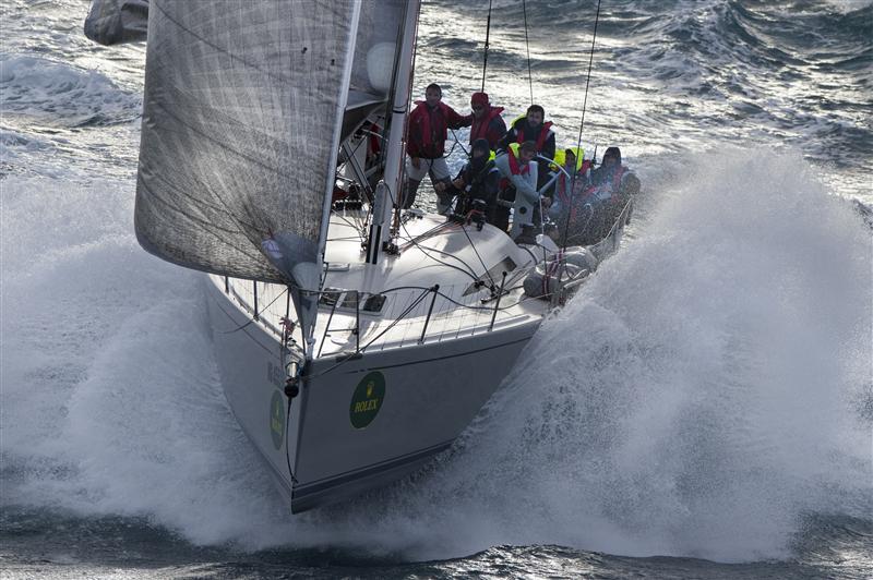 Cippa Lippa 8, skipper Francesco Diddi. Foto Arrigo/Rolex